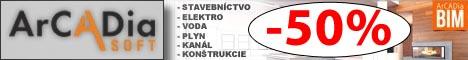 ArCADia BIM 11 - 50% zľavy