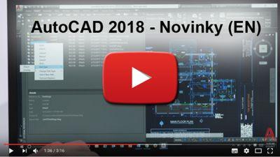 Novinky AutoCAD 2018 (EN)