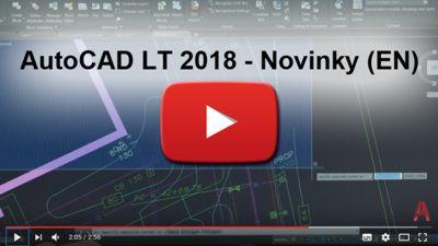 Novinky AutoCAD LT 2018 (EN)