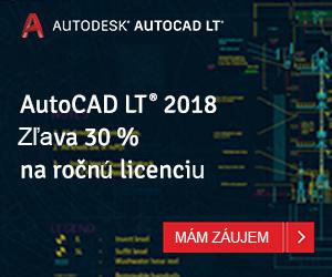 AUTOCAD LT - ZĽAVA 30%