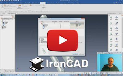 IRONCAD - Hromadná tvorba výkresov