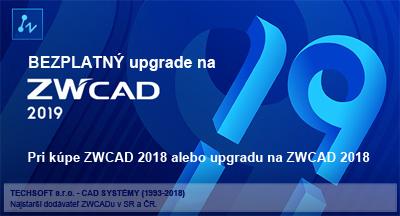 Bezplatný upgrade na ZWCAD 2019