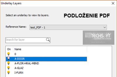 Podloženie PDF súboru