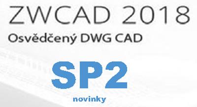 ZWCAD 2018 SP2 - Novinky
